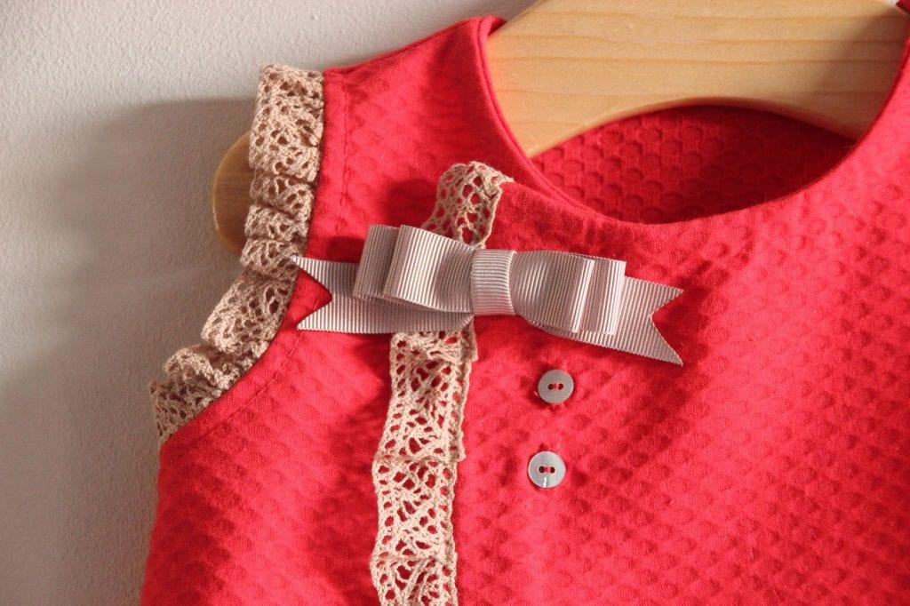 DIY Costura: vestido de bebé (patrones gratis) - Handbox Craft ...