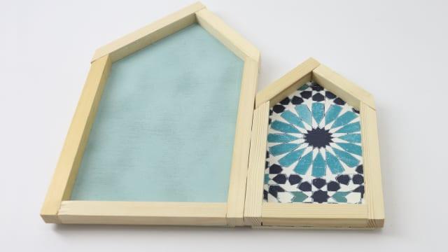 DIY casitas -marco con Ceys - Handbox Craft Lovers | Comunidad DIY ...