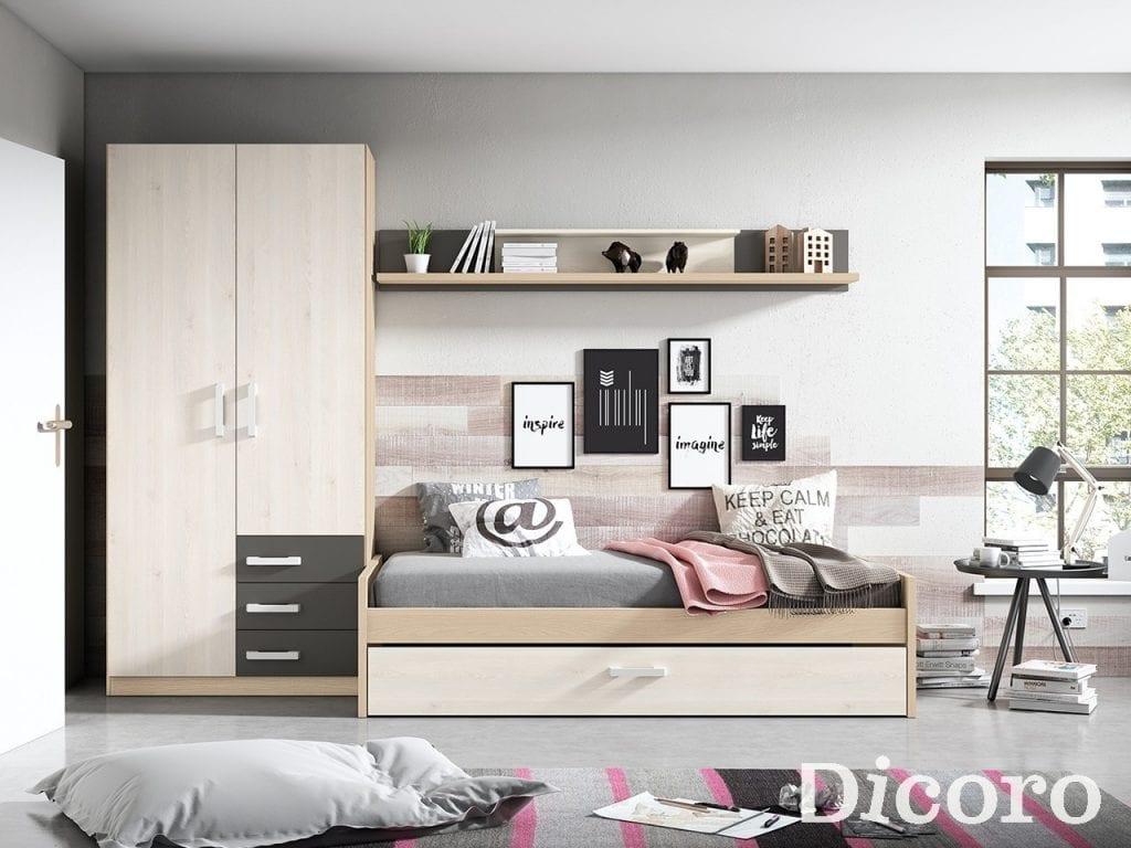 C mo decorar una habitaci n juvenil moderna handbox - Como decorar una habitacion moderna ...