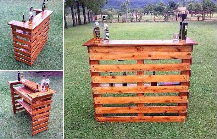Las mejores ideas con palets para hacer muebles Handbox Craft