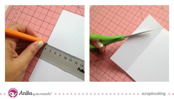 Manualidades con papel: tarjeta felicitación