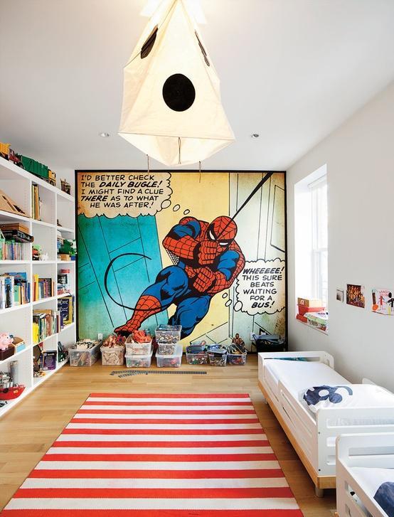 Decorar la habitación de un gamer con murales