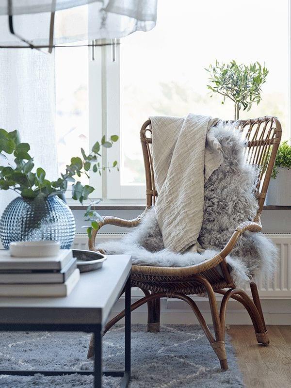 ratan chair living
