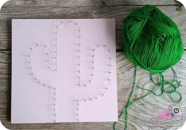 haciendo string art