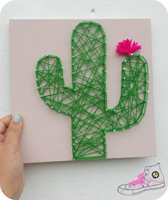 cactus stringart