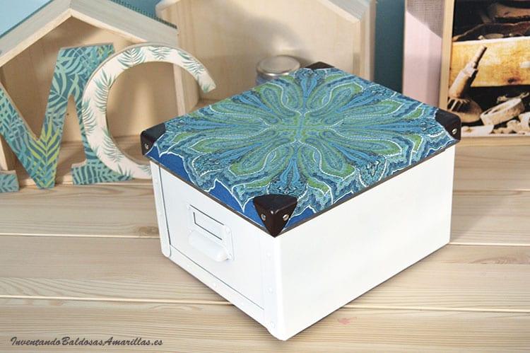 caja-decorada-servilleta-decoupage