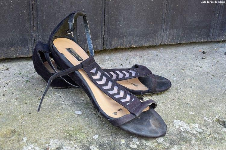 Cómo reciclar tus sandalias