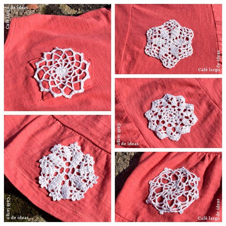 Apliques de ganchillo o crochet - Handbox Craft Lovers | Comunidad ...