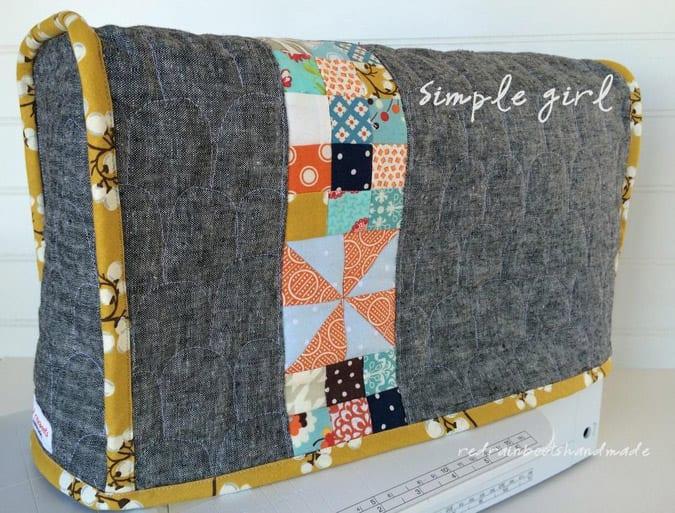 Cómo hacer una funda para máquina de coser