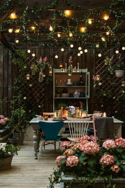 Decorar tu terraza o jardín en otoño