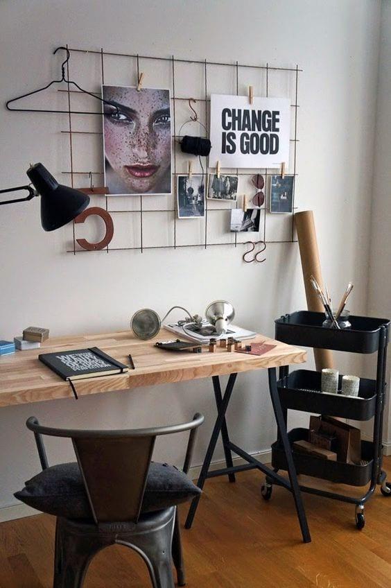 Cinco estilos diferentes para decorar el escritorio