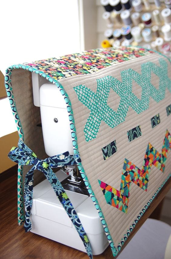 Cómo hacer una funda de máquina de coser