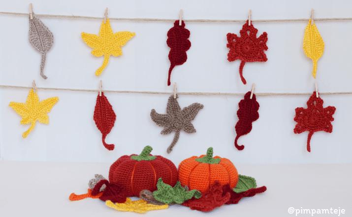 Decoración de otoño: diy ganchillo - Handbox Craft Lovers ...