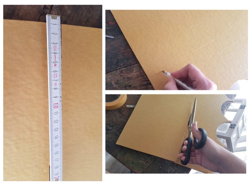 DIY Alfombrilla de raton de corcho - Medir, marcar y cortar