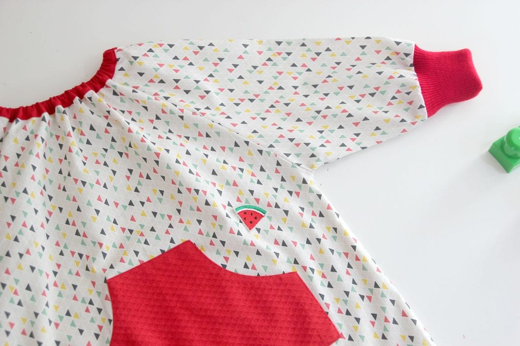 DIY La vuelta al cole: baby, mandilon o bata para guardería ...