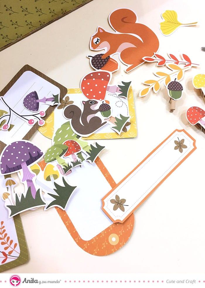 tags y recortables para decorar