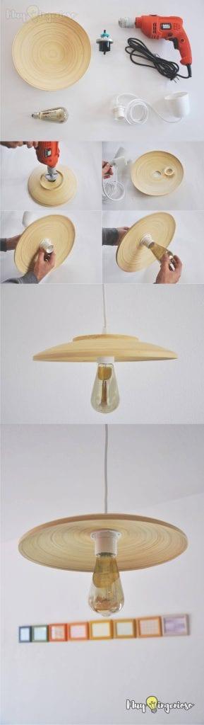 DIY para personalizar lámparas