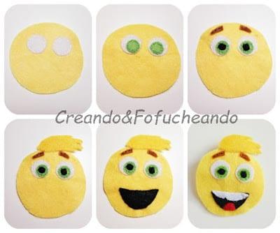 Paso-a-paso-emoji-Gene-en-Fieltro-CreandoyFofucheando