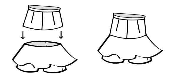 e3af5d1e5 Patrón: Falda-pantalón - HANDBOX