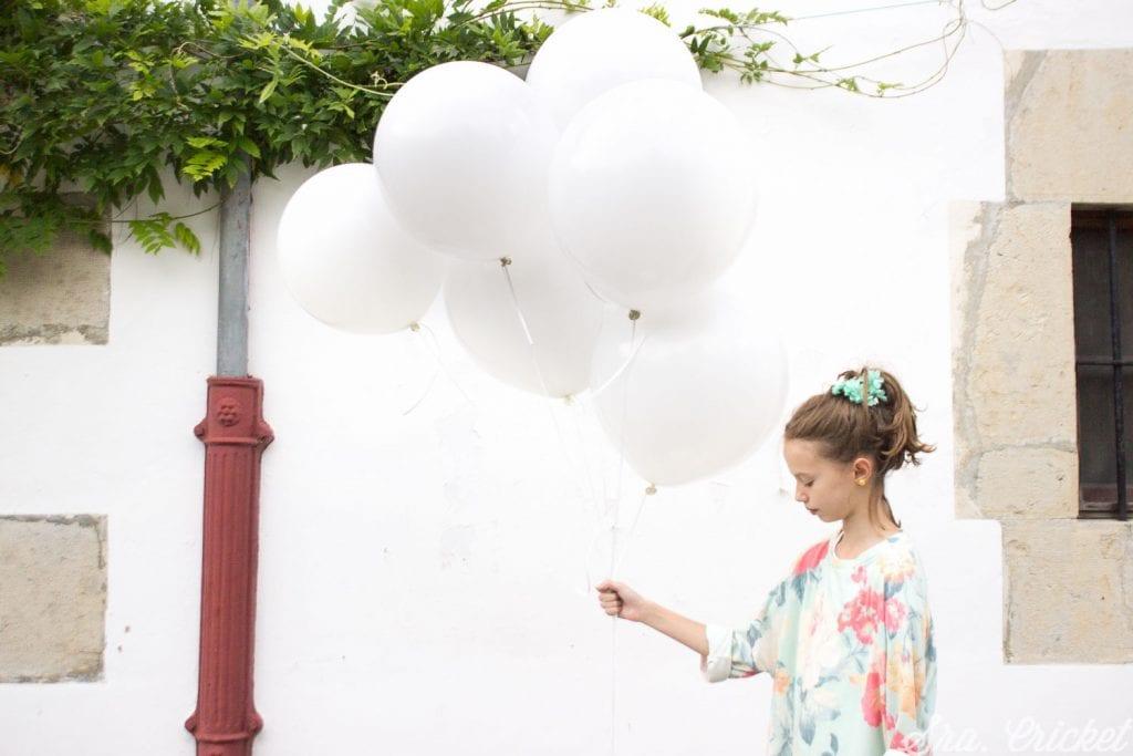 pintar globos pintura spray