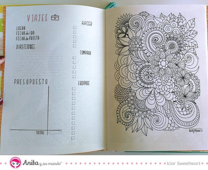 planificador de viajes en planner