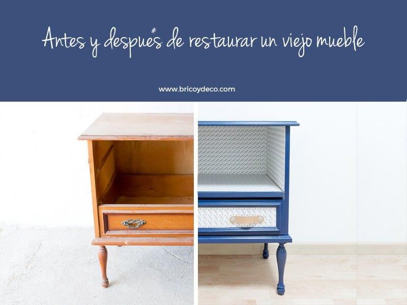Cómo restaurar un mueble viejo paso a paso - Handbox Craft Lovers ...