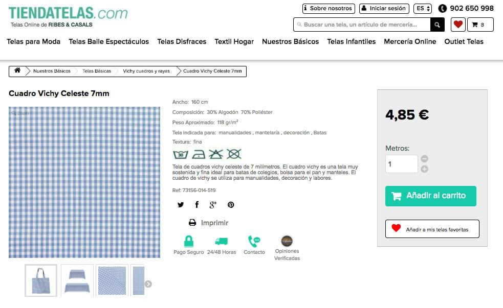 DIY Costura de ropa para bebés: BLUSA VICHY (patrones gratis ...