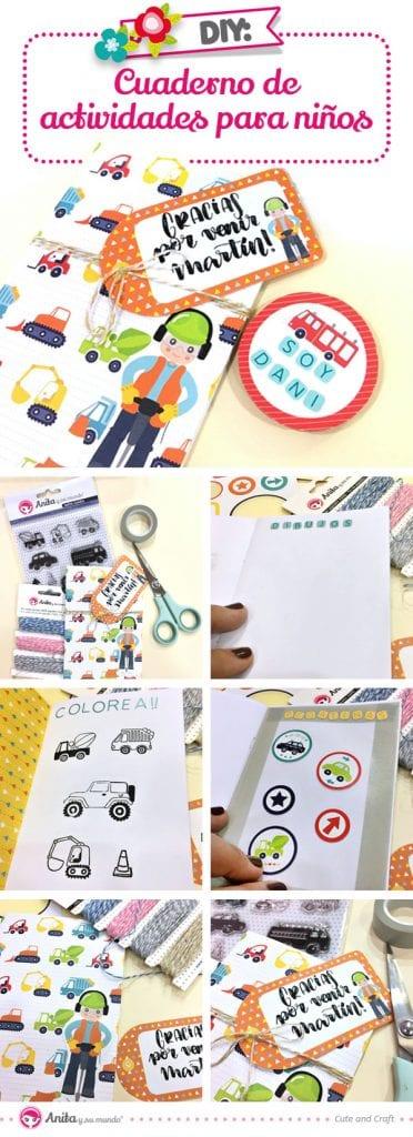 tutorial cuaderno de actividades infantil