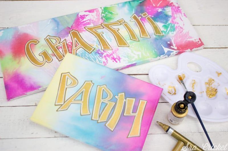 como hacer cuadros con papel de seda