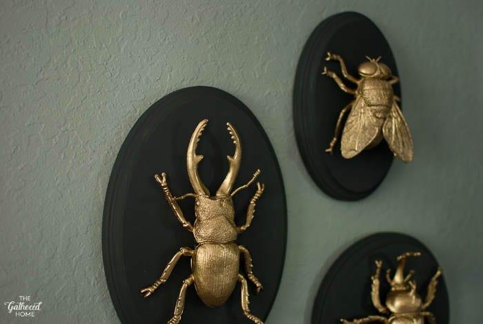 fiesta de Halloween - Insectos dorados
