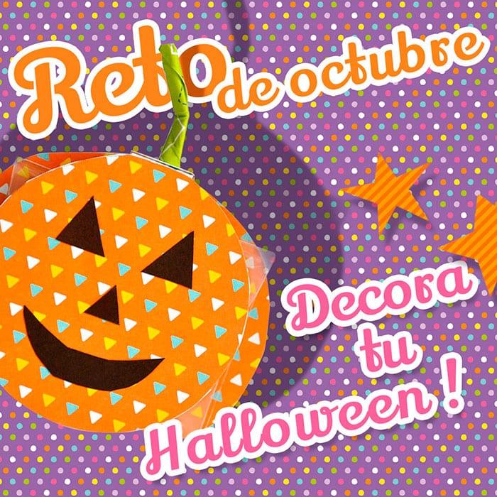 reto scrap octubre: decora tu halloween