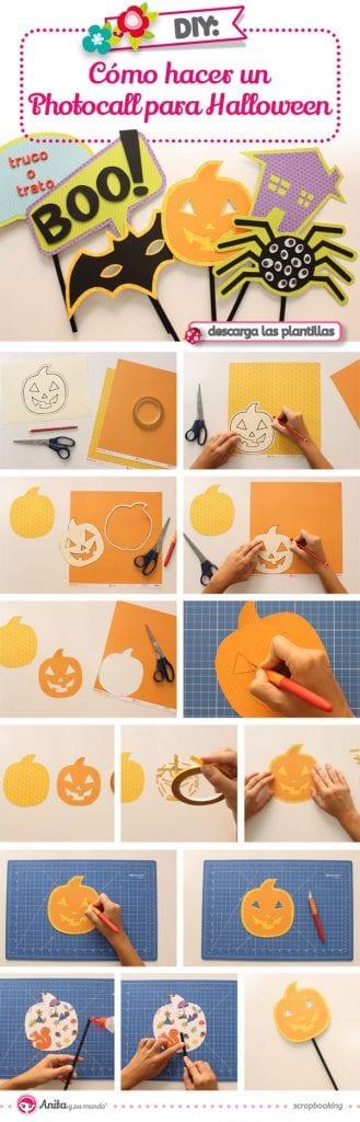 tutorial photocall halloween