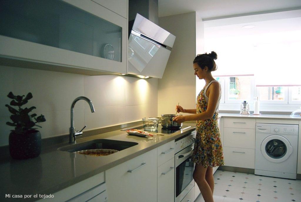 Ventajas e inconvenientes de colocar una encimera de cocina a una altura no est ndar handbox - Altura encimera cocina ...