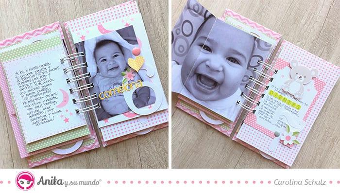 decorar páginas interiores minialbum