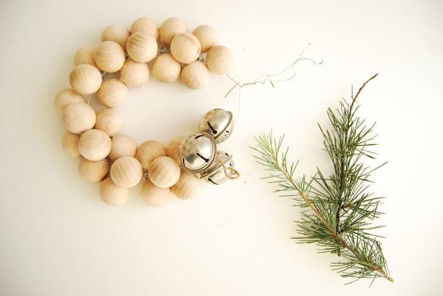 tutorial corona de navidad estilo nórdico