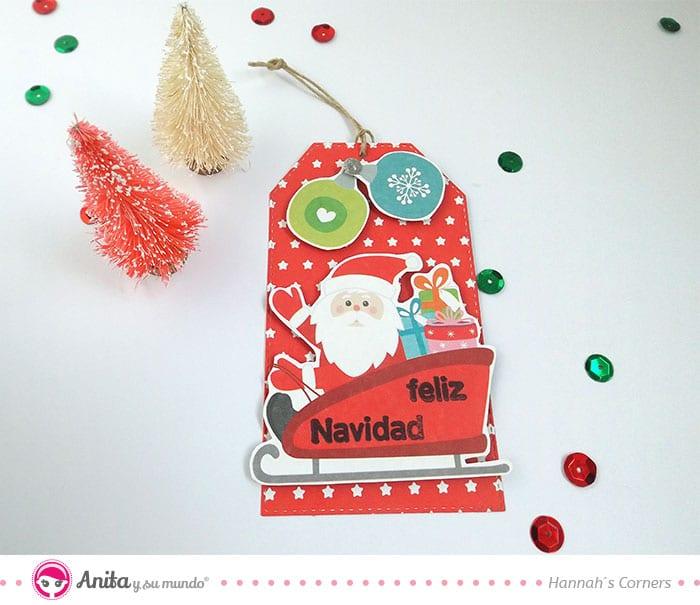 etiqueta para regalos de navidad