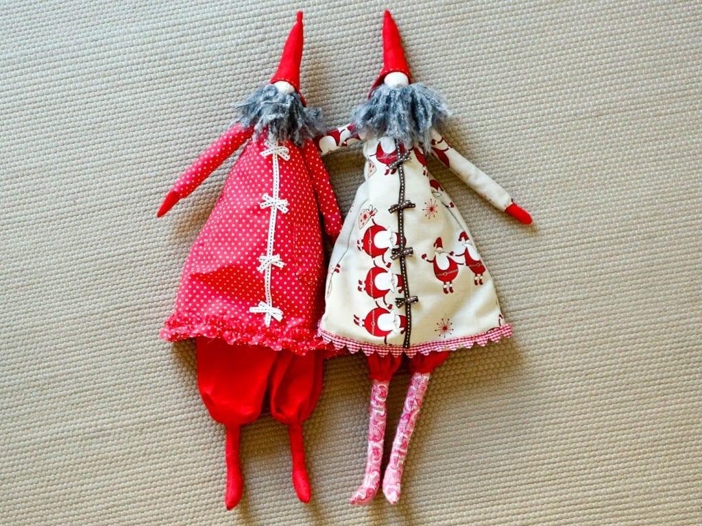 dos duendes de navidad
