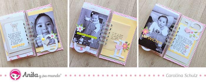 journaling como decoración en scrapbooking