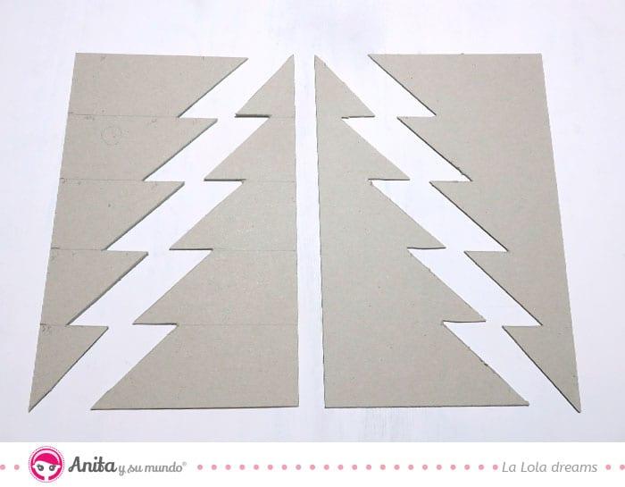 páginas base álbum de navidad