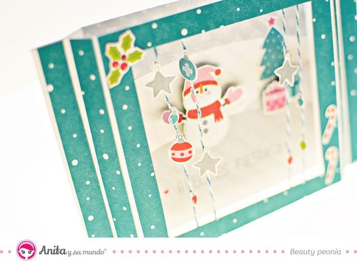 diy tarjeta felicitación navidad