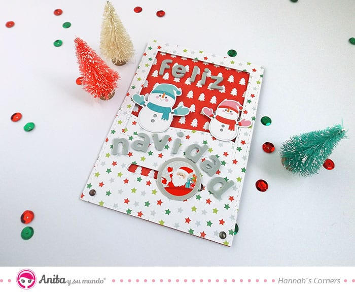 tarjeta de navidad con movimiento