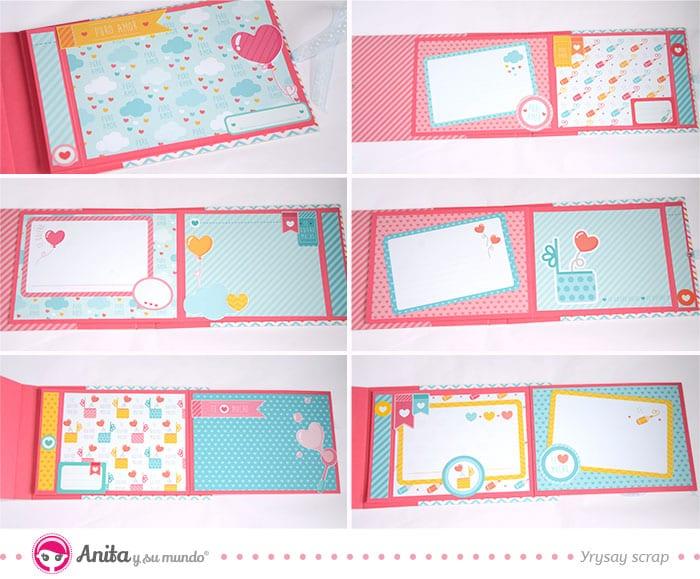 tarjetas de la colección puro amor para decorar