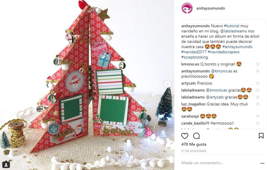 Segunda posicion instagram scrapbookiing
