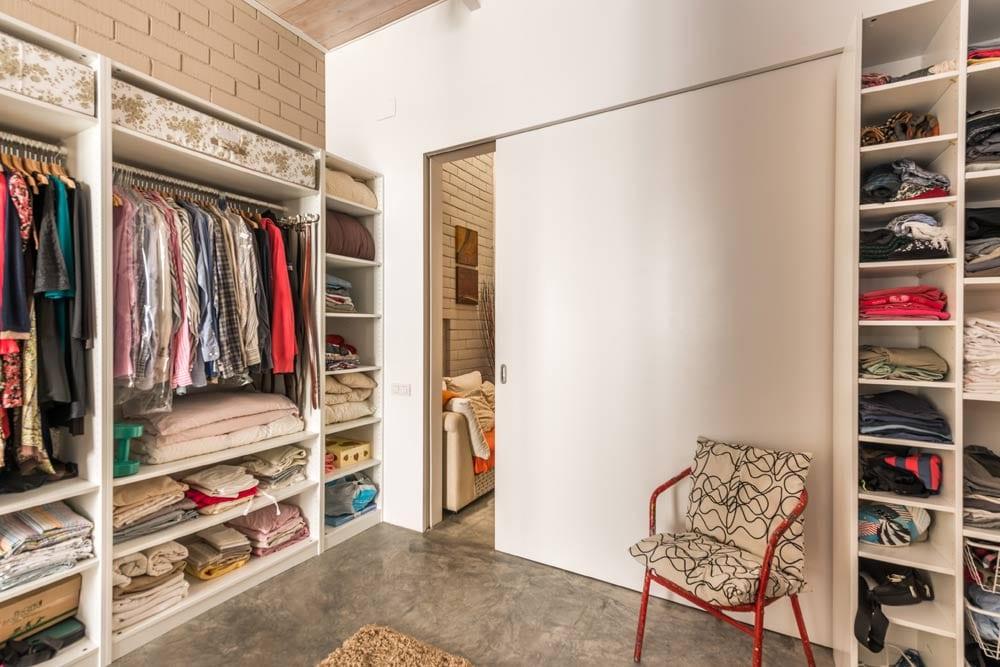 Loft en Barcelona con vestidor