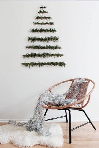 DIY: Un Árbol de Navidad colgante