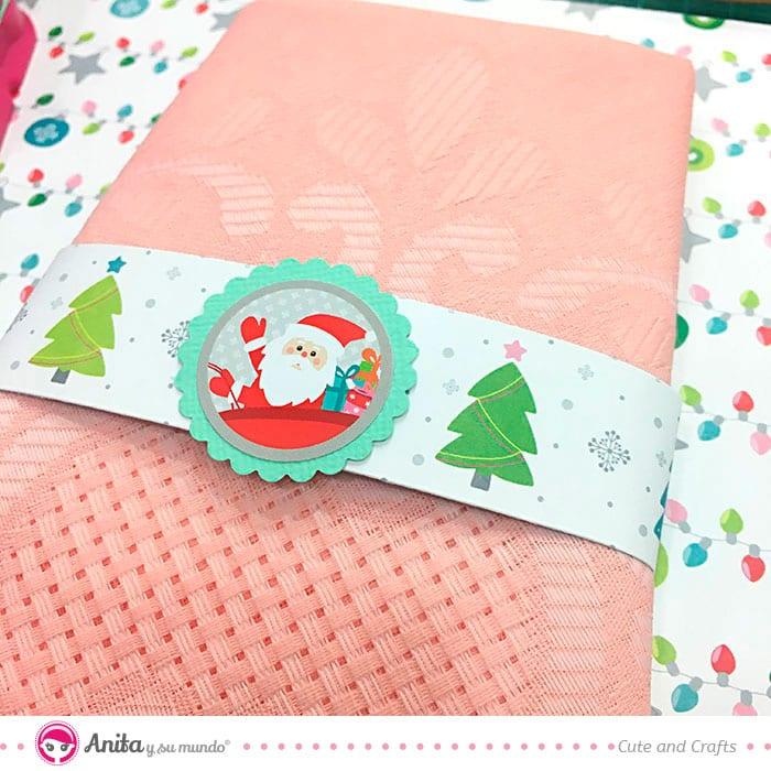 Decoración de navidad para servilletas