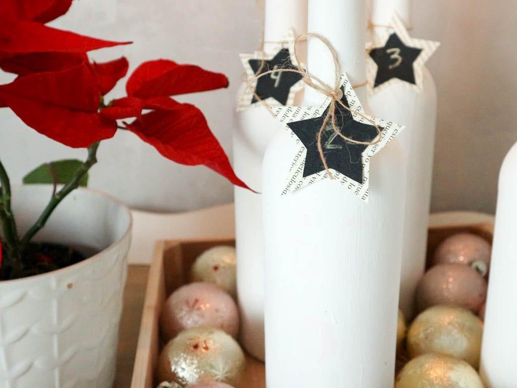 candelabro para navidad diy