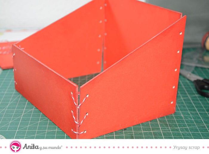 montaje caja recetarios navidad