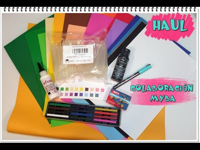 64b8c666d4b Haul febrero materiales de manualidades MYBA - HANDBOX