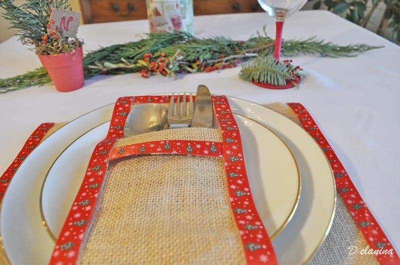 Diy Decoracion Mesa De Navidad Handbox Craft Lovers Comunidad - Decoracion-navidea-facil-de-hacer